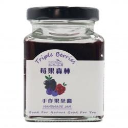 【自然法則】莓果森林手作果茶醬 110g/罐
